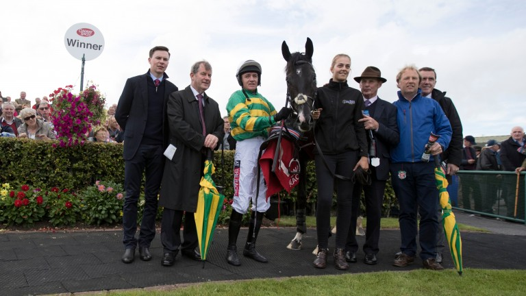 Connections of Le Richebourg after winning the opener at Galway