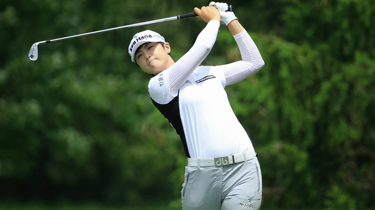Sung Hyun Park has a great chance at Kingsbarns