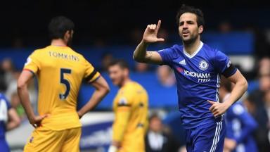 Chelsea's tactics last season allowed Cesc Fabregas to push forward with more freedom