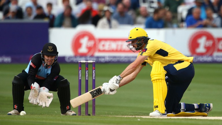 Opening batsman James Vince could help Hampshire win at Lord's
