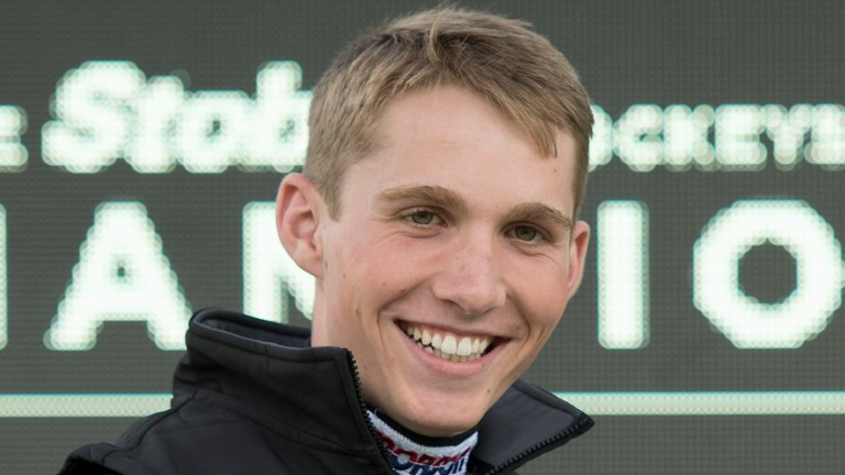 Harry Cobden: injured in a fall at Newton Abbot on Monday