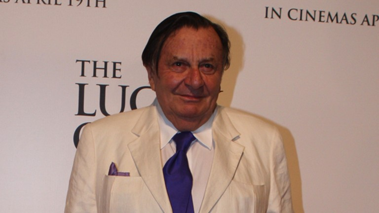 Barry Humphries: spent a day at the races with wife Lizzie Spender