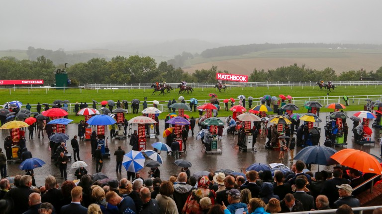 Goodwood: day two was a wash out on the weather front