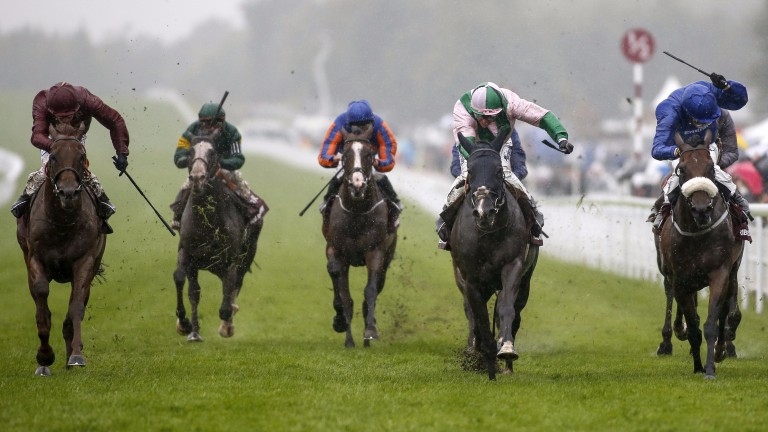 Here Comes When (second right) hold Ribchester (right)