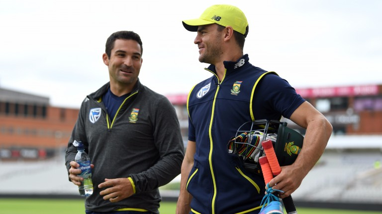 South Africa openers Dean Elgar and Heino Kuhn could struggle at Old Trafford