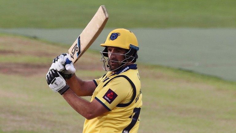 Colin de Grandhomme has hit ten sixes for Birmingham Bears in the T20 Blast