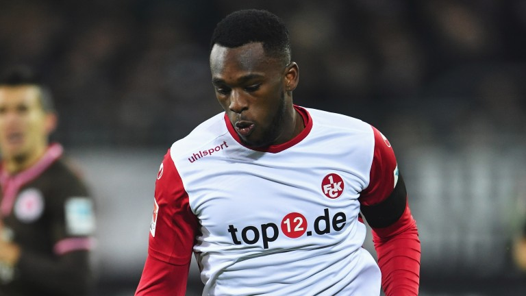 Osayamen Osawe may struggle to find a way past Darmstadt