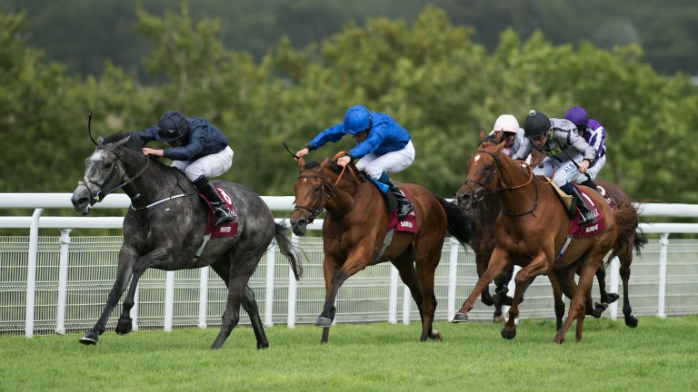 Winter winning the Nassau Stakes at Goodwood