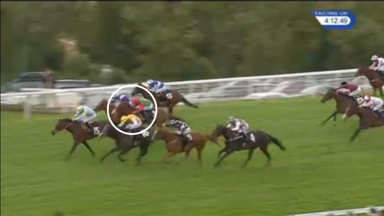 Spectacular: Billesdon Brook's win at Goodwood was one of the season's best