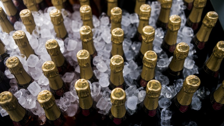 Goodwood: champers on ice, a must for the meeting