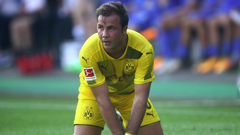 Dortmund star Mario Gotze