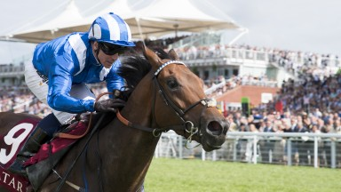 Batt out of hell: Battaash makes his 9-2 starting price look silly as he slams his elders in the King George Stakes