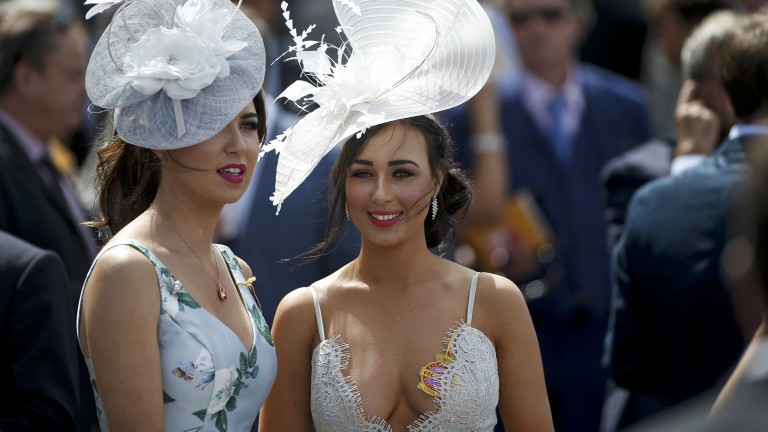 Hat's lovely: some fabulous fashion on show on day four