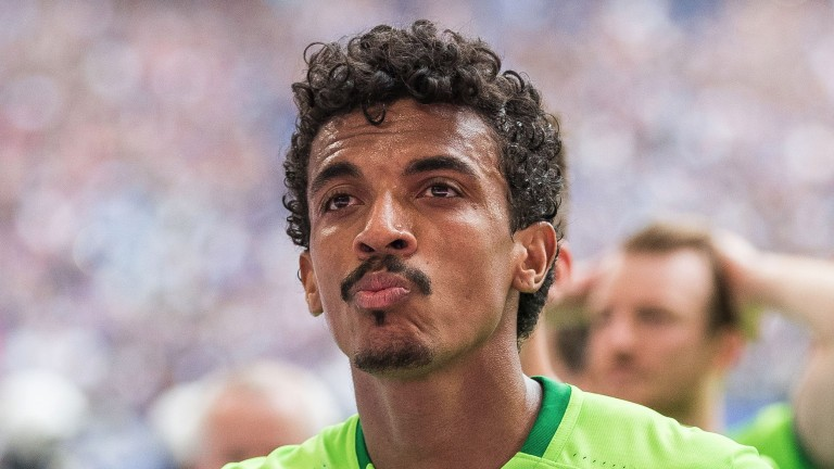 Marseille's Luiz Gustavo has a great mustache