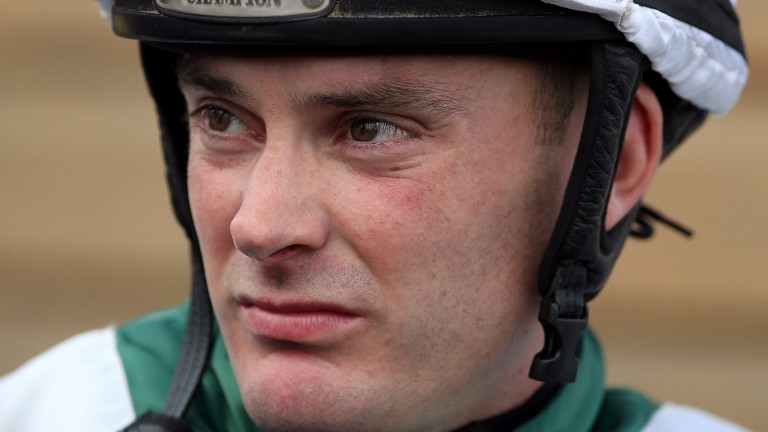 Adrian Nicholls: new trainer retired from riding last year