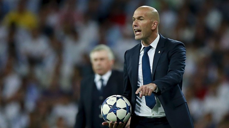 Zinedine Zidane is 3-1 favourite to be next Red Devils boss