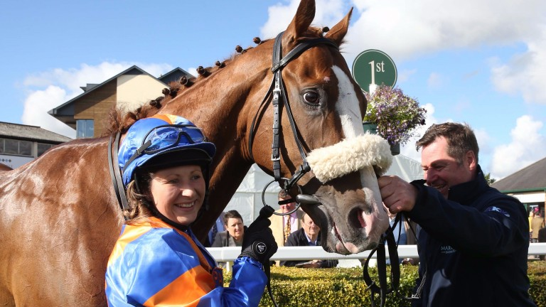 A first ride and a first winner for Kelly Adams on the Noel Wilson-trained Our Place In Loule