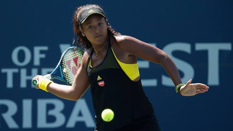 Naomi Osaka ousted Heather Watson in round one
