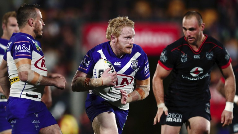 Bulldogs' skipper James Graham must try and lift his troops