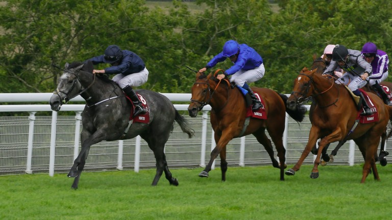 Winter powers clear to win the Nassau Stakes under Ryan Moore