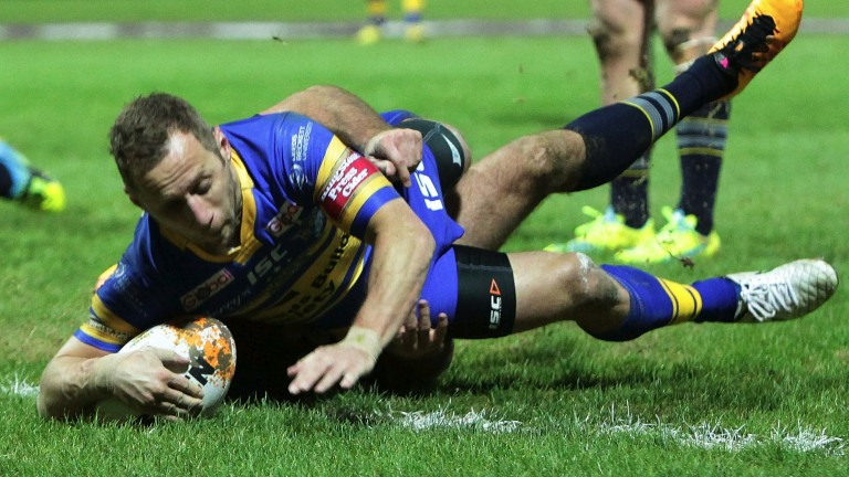 Leeds star Rob Burrow
