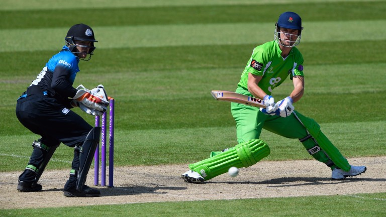 Lancashire batsman Dane Vilas is a threat in limited-overs cricket