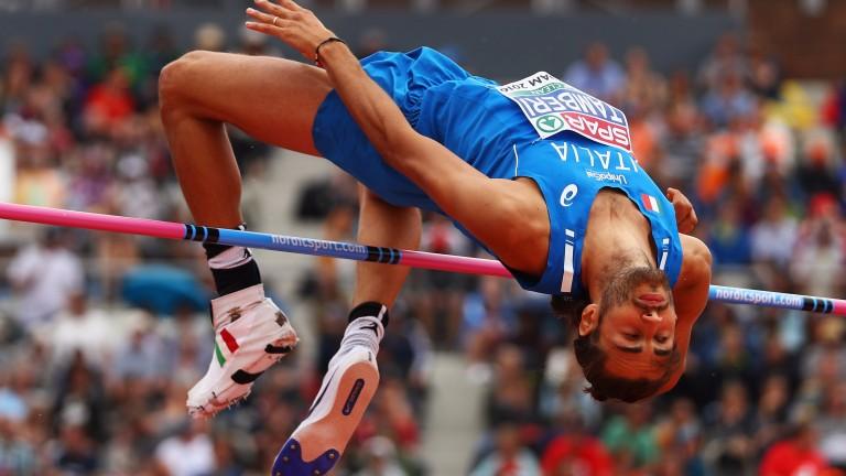 European champion Gianmarco Tamberi