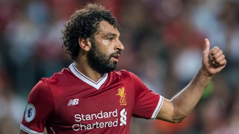 Liverpool's Mo Salah
