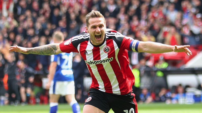 Billy Sharp of Sheffield United