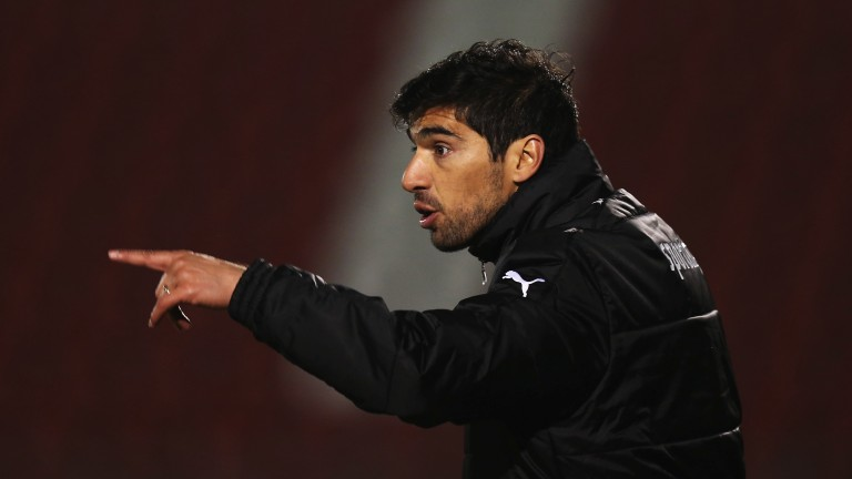 Braga boss Abel Ferreira