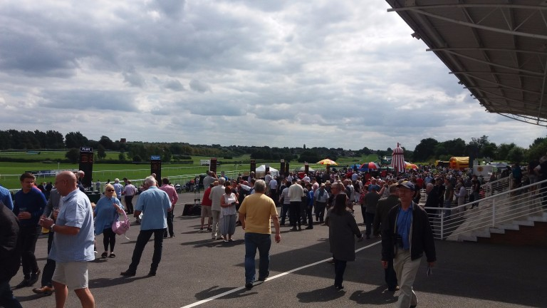 Leicester racecourse: hosted meeting between independents and SIS