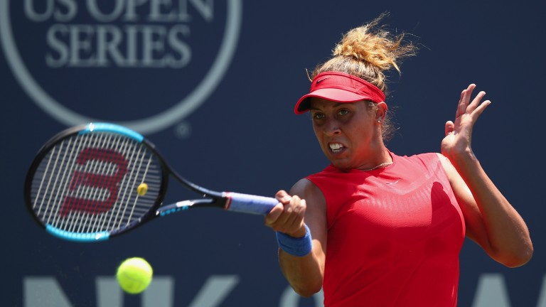 Madison Keys has won both meetings with Coco Vandeweghe this term