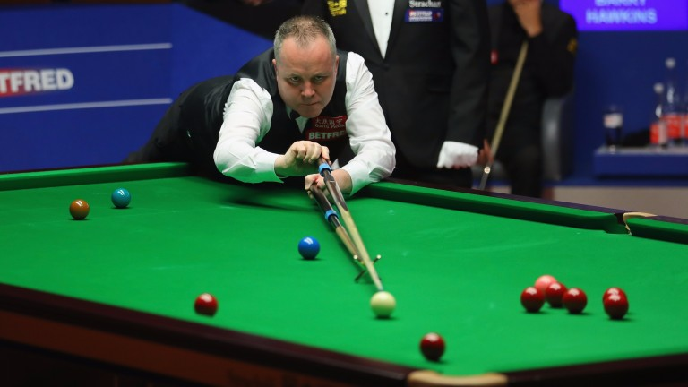 John Higgins defends his title in China this week