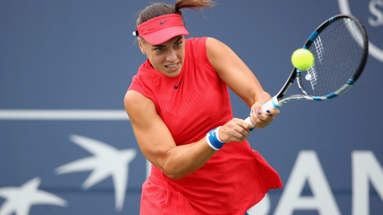 Ana Konjuh has a power-packed game