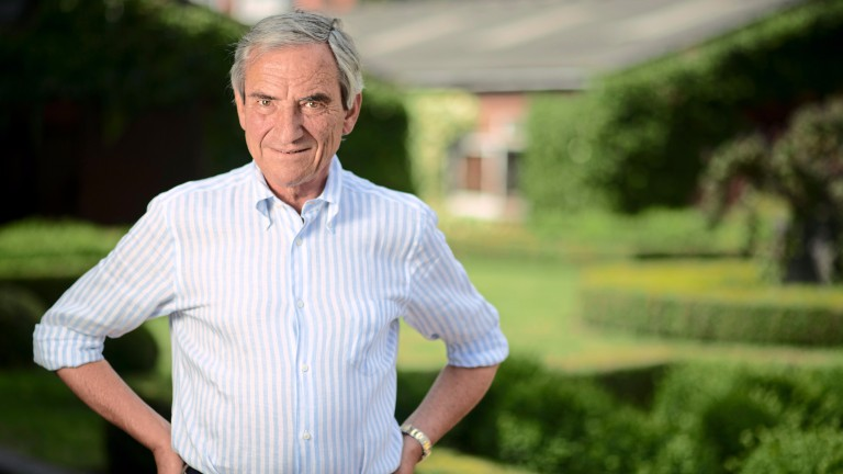 Luca Cumani: saddles his first runner at Galway with Alwaysandforever contesting the Listed race