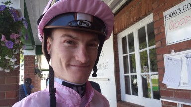 Daniel Muscutt: came back with a winner on his first ride since the Arlington Million