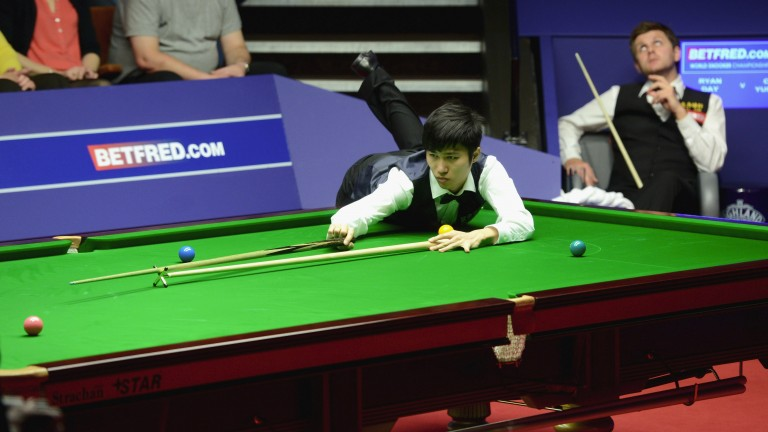 Cao Yupeng lost 13-7 to Ryan Day in the 2012 World Championship