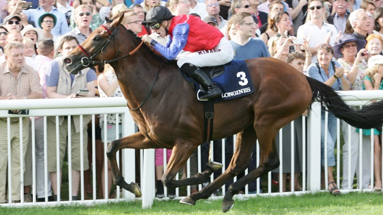 Our Ivanhowe: storms clear of Sea The Moon in the 2014 Grosser Preis von Baden