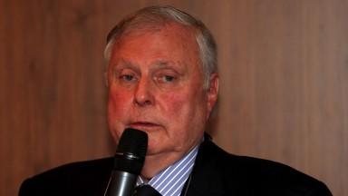 BBC golf commentator Peter Alliss