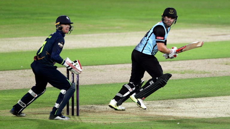 Sussex batsman Chris Nash has scored five fifties in the T20 Blast