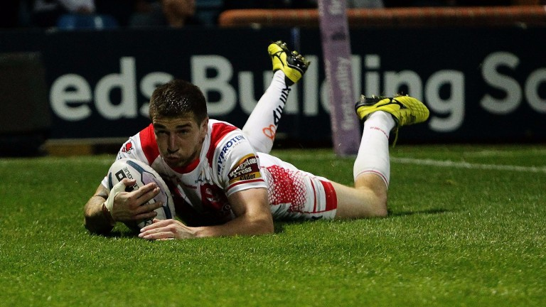 Mark Percival has contributed 14 tries for St Helens this season