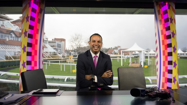 Rishi Persad: a member of the Diversity in Racing Steering Group