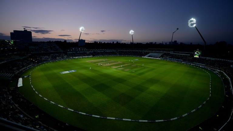 England dominated the first day under the floodlights at Edgbaston