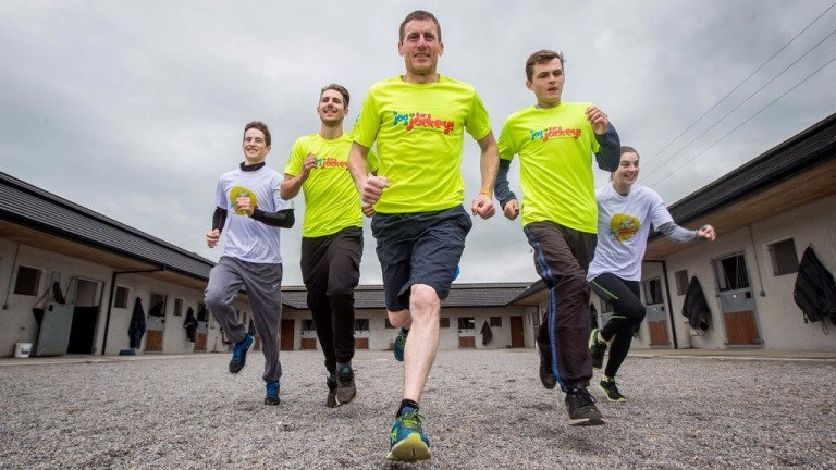 Jog for Jockeys: the popular fundraiser takes place next week