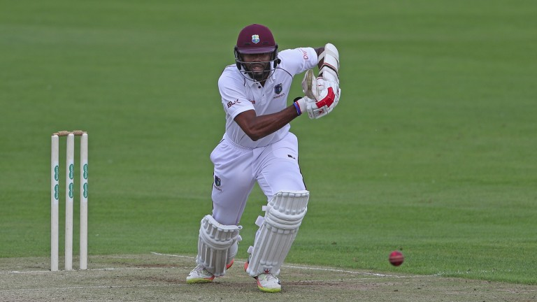 West Indies batsmen Kyle Hope