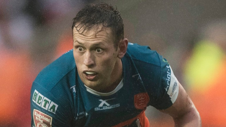 Shaun Lunt of Hull KR in action