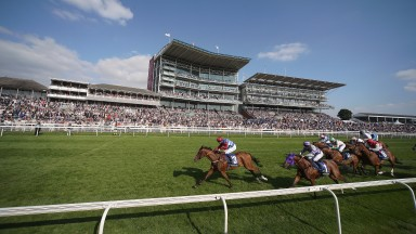 YORK, ENGLAND - AUGUST 17: Fergus Sweeney riding Oceane win The Fine Equinity Stakes at York racecourse on August 17, 2016 in York, England. (Photo by Alan Crowhurst/Getty Images)