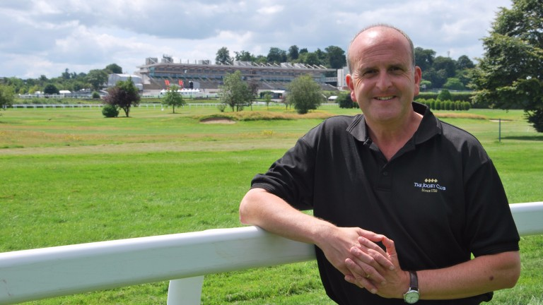 Andrew Cooper: Sandown's clerk of the course is in charge of one of Britain's top dual-purpose tracks