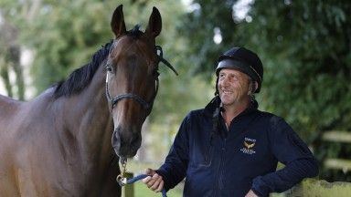 Peter Niven and his stable star Clever Cookie