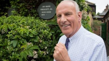 Sir Mark Prescott, trainer of easy 2m winner Piedita